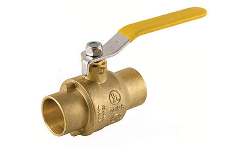 Sweat Lead Free Brass Ball Valve - Valve Warehouse