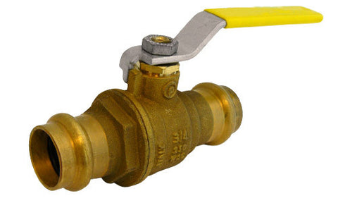 Press Connection Premium Lead Free Brass Ball Valve - Valve Warehouse