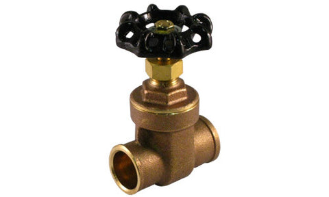 Sweat Brass Gate Valve - Valve Warehouse