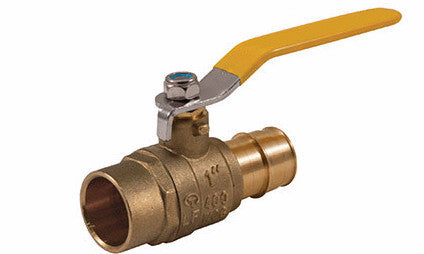 Sweat x PEX Lead Free Expansion Pex Ball Valve with Stainless Steel Trim - Valve Warehouse