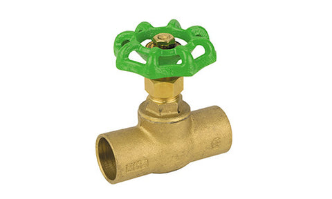 Sweat Lead Free Brass Stop Valve - Valve Warehouse