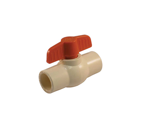 Solvent Connection CPVC Ball Valve with CTS Connections - Valve Warehouse