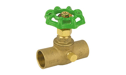 Sweat Lead Free Brass Stop & Waste Valve - Valve Warehouse