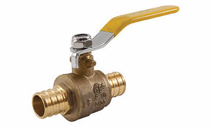 Lead Free Brass PEX x PEX Ball Valve - Valve Warehouse