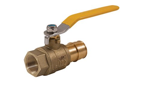 FIP x PEX Lead Free Expansion Pex Ball Valve with Stainless Steel Trim - Valve Warehouse