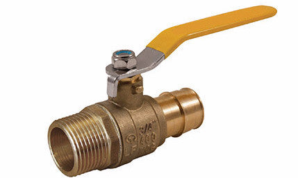 MIP x PEX Lead Free Expansion Pex Ball Valve with Stainless Steel Trim - Valve Warehouse