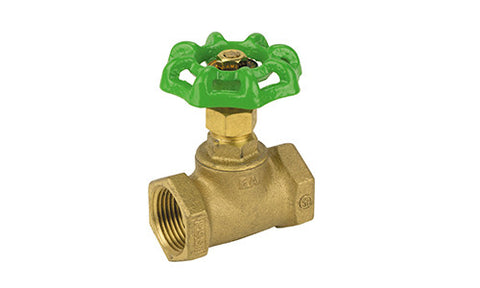 Threaded Lead Free Brass Stop Valve - Valve Warehouse