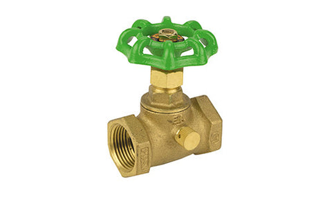 Threaded Lead Free Brass Stop & Waste Valve - Valve Warehouse