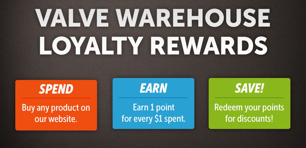 Valve Warehouse's Loyalty Program