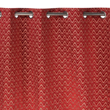 Load image into Gallery viewer, MNS  Capri Zig Zag Door Curtain