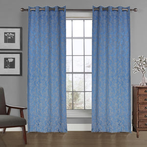 MNS  Capri Flowers Door Curtain