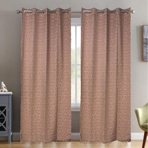 MNS  Capri Floral Door Curtain