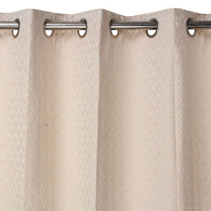 MNS  Capri Zig Zag Door Curtain