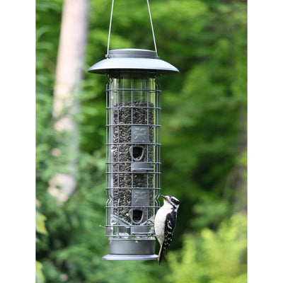 Squirrel-X™ X4 Squirrel-Resistant Bird Feeder with Push-Button Top, 1.5 lb. capacity