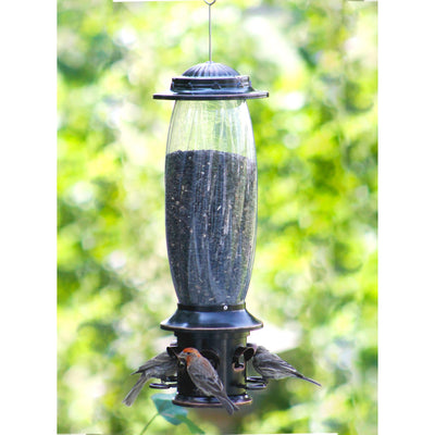 Squirrel-X™ X6 Squirrel-Resistant Bird Feeder with Spring-Loaded Perches, 6.1 lb. capacity