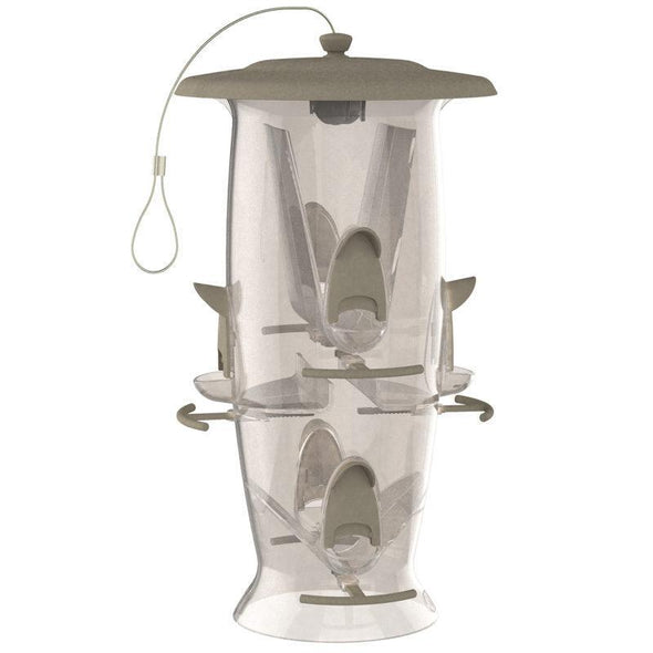More Birds® Abundance Combination Sunflower/Thistle Bird Feeder, 3.5 lb. capacity