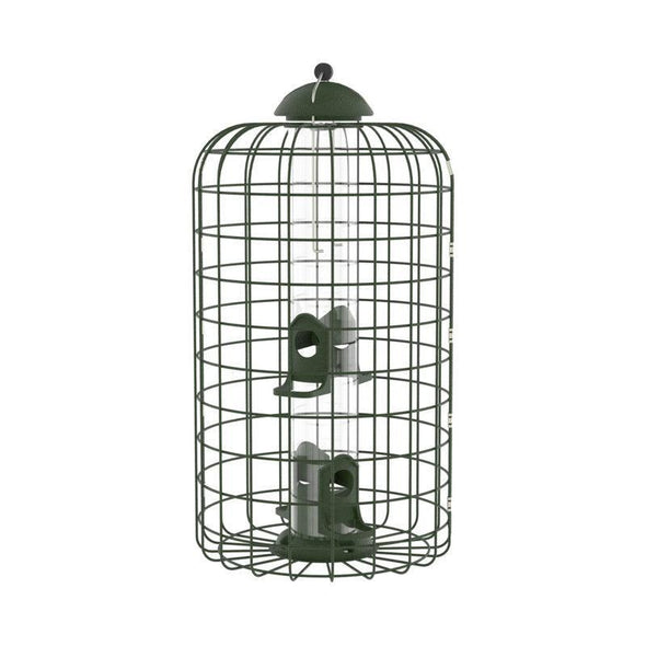More Birds by Squirrel-X Squirrel-Resistant Caged Bird Feeder