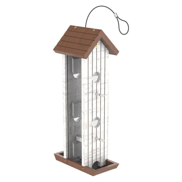 More Birds® Tower Wood Feeder