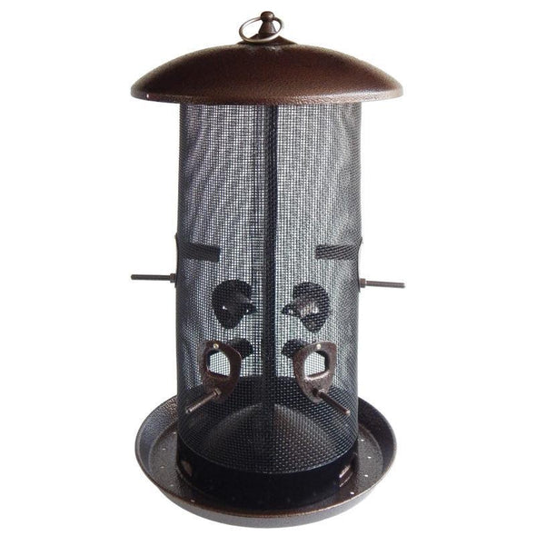 More Birds® Giant Combo Sunflower/Thistle Screen Bird Feeder, Dual Compartments, 11 lb. capacity