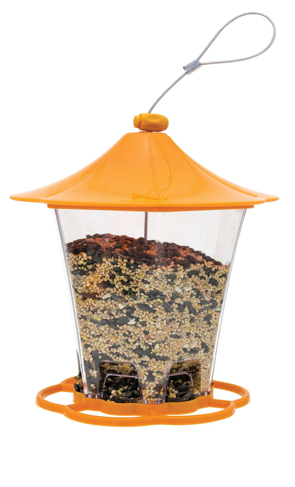 More Birds® Dreamsicle Hopper Sunflower Bird Feeder, 1.3 lb. capacity Bird Feeder More Birds