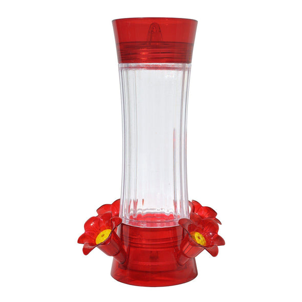 More Birds® Topaz Hummingbird Feeder with Glass Bottle and Built-in Ant Moat, 13 oz. capacity