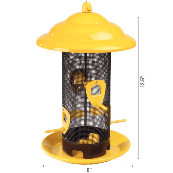 More Birds Sedona Screen Bird Feeder dimensions