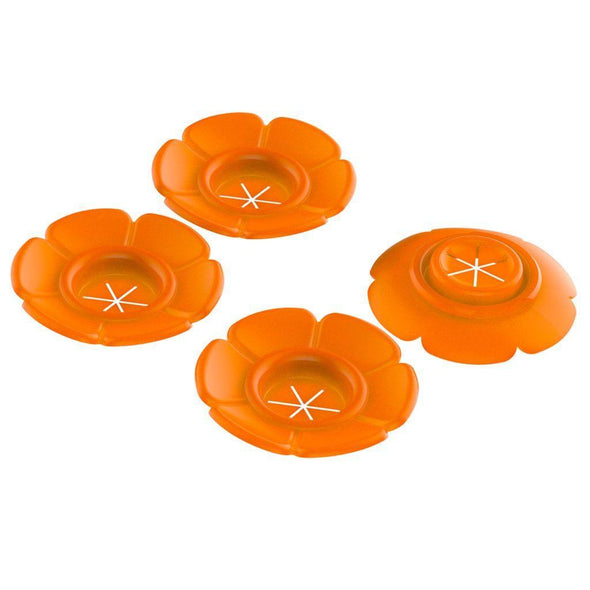 More Birds® Replacement Orange Bee Guard Flowers for Vintage Oriole Feeder (#61)
