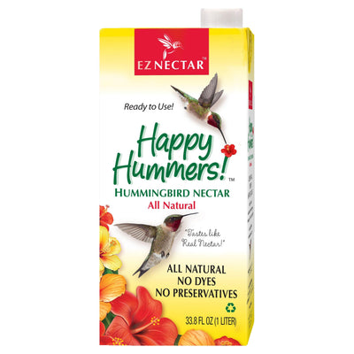EZNectar® Happy Hummers!® Clear Ready-to-Use Hummingbird Nectar