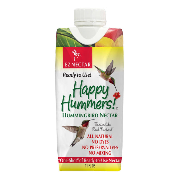 EZNectar® Happy Hummers!® Clear Ready-to-Use Hummingbird Nectar Accessory EZNectar 11 oz.