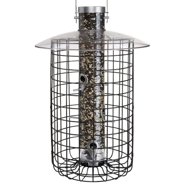 Droll Yankees B7 Sunflower Domed Cage Shelter Feeder