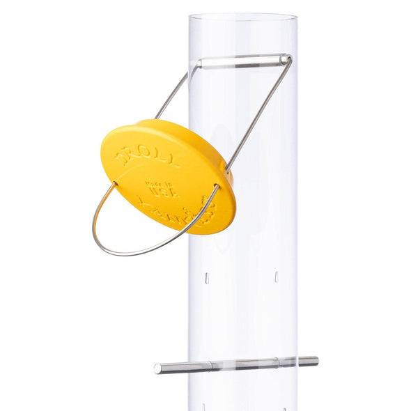 Droll Yankees® New Generation® Yellow Thistle Finch Feeder, .5 lb. capacity, 8 in.