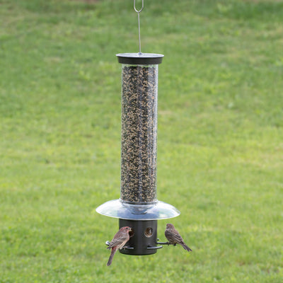 Droll Yankees® Yankee Blocker® Squirrel-Proof Bird Feeder, 4.25 lb. capacity, 23 in., Gunmetal