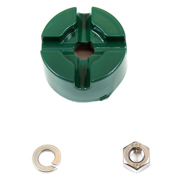 Droll Yankees Replacement Hub, Washer & Nut for the Yankee Flipper Squirrel-Proof Bird Feeder (YF)