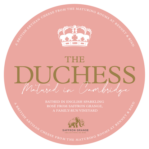 The Duchess Cheese Label