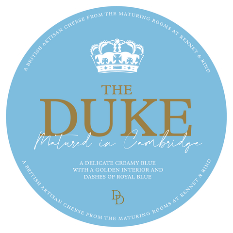 The Duke Cheese Label