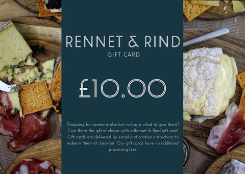 Gift Card - Rennet & Rind British Artisan Cheese