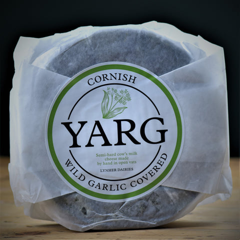 Cornish Yarg Garlic