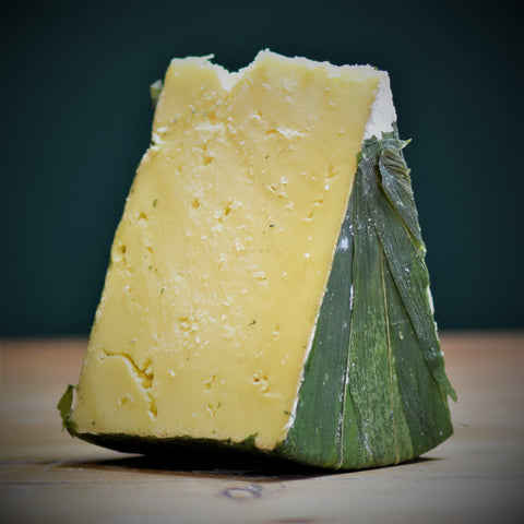 Cornish Yarg Garlic - Rennet & Rind British Artisan Cheese