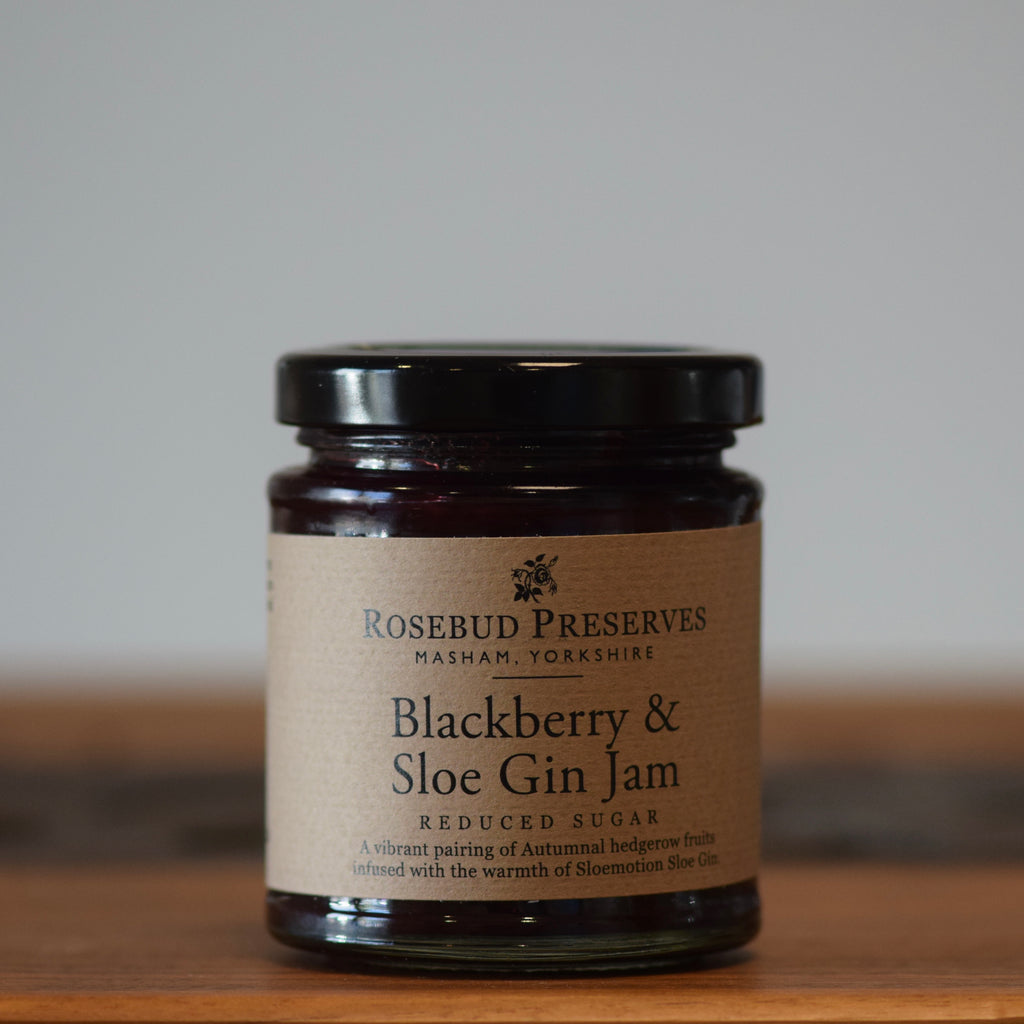 Blackberry & Sloe Gin Jam - Rennet & Rind British Artisan Cheese
