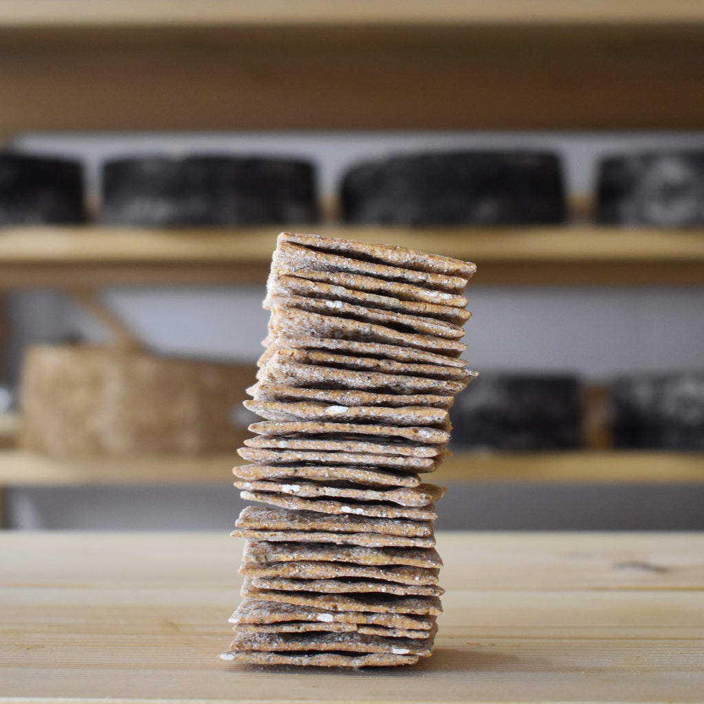 Peter's Yard Seeded Wholegrain Sourdough Crackers - Rennet & Rind British Artisan Cheese