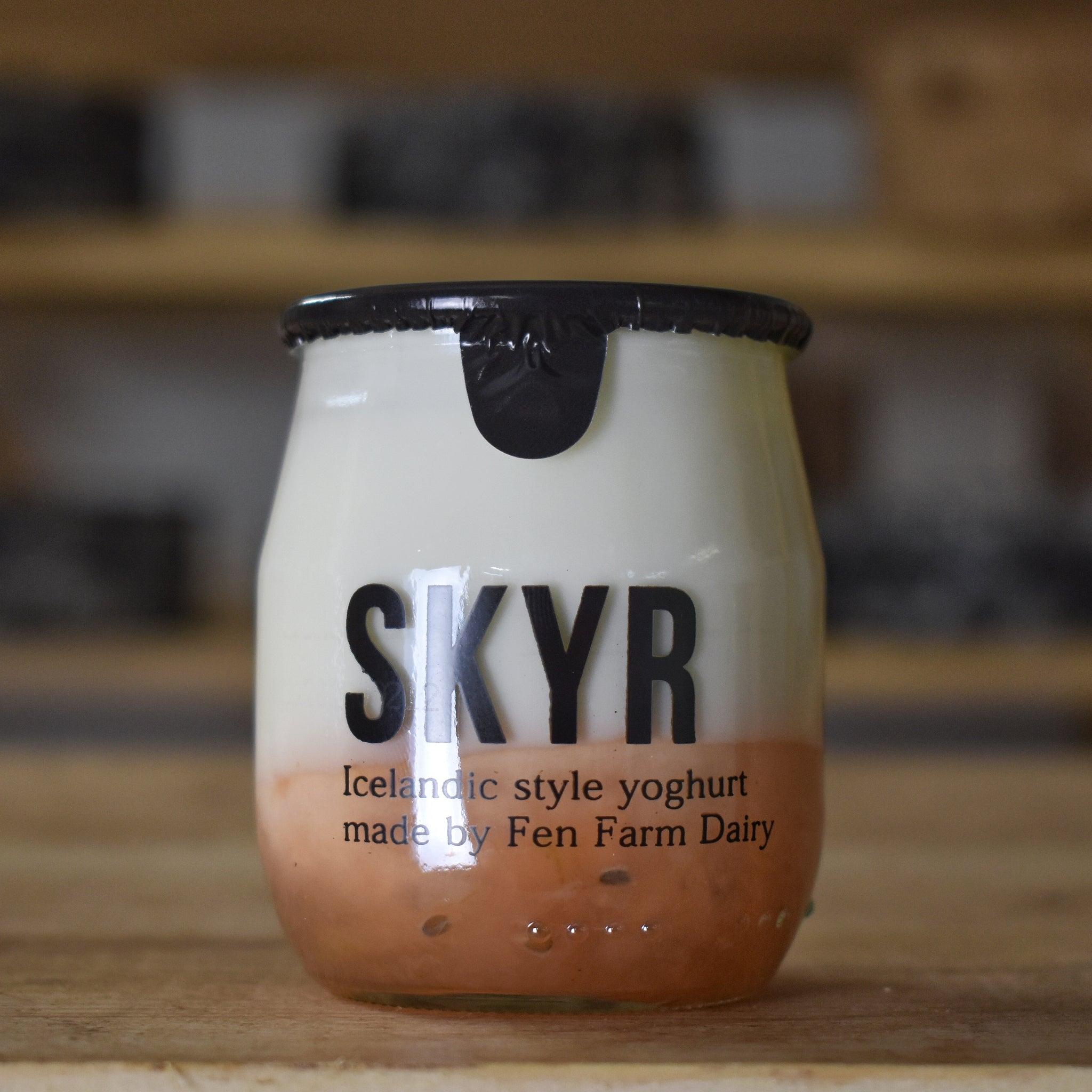 Skyr Gooseberry and Elderflower Yoghurt