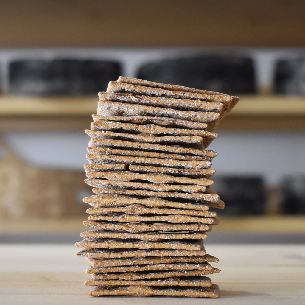 Peter's Yard Fig & Spelt Sourdough Crackers - Rennet & Rind British Artisan Cheese