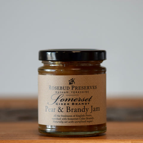 Pear & Somerset Cider Brandy Jam - Rennet & Rind British Artisan Cheese