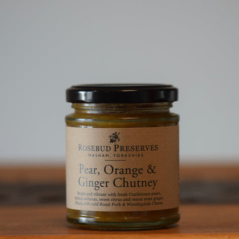 Pear, Orange & Ginger Chutney - Rennet & Rind British Artisan Cheese