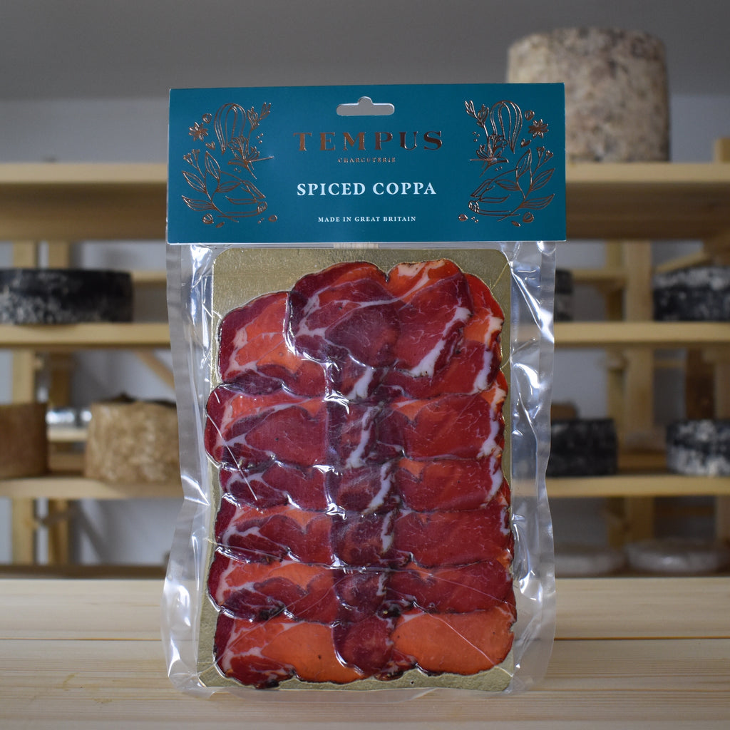Tempus British Charcuterie - Spiced Coppa - Rennet & Rind British Artisan Cheese