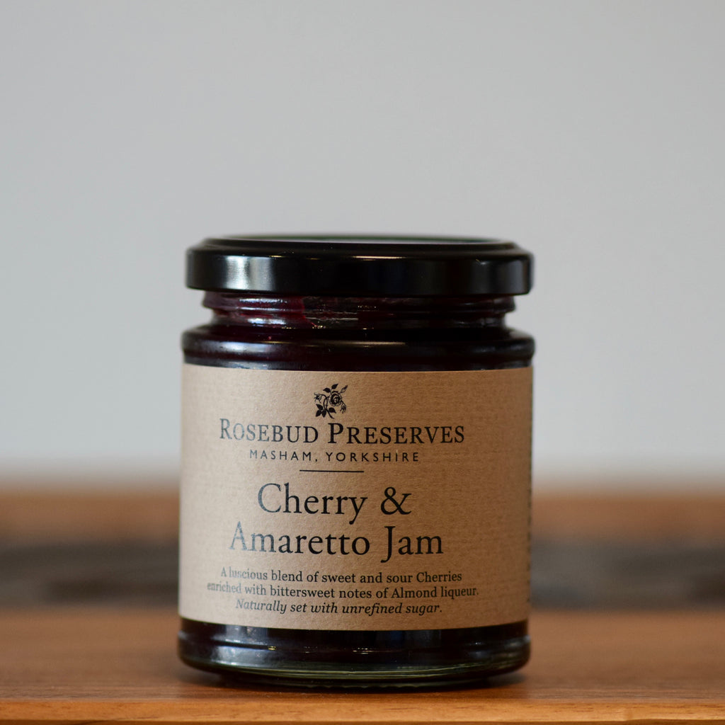 Cherry & Amaretto Jam - Rennet & Rind British Artisan Cheese