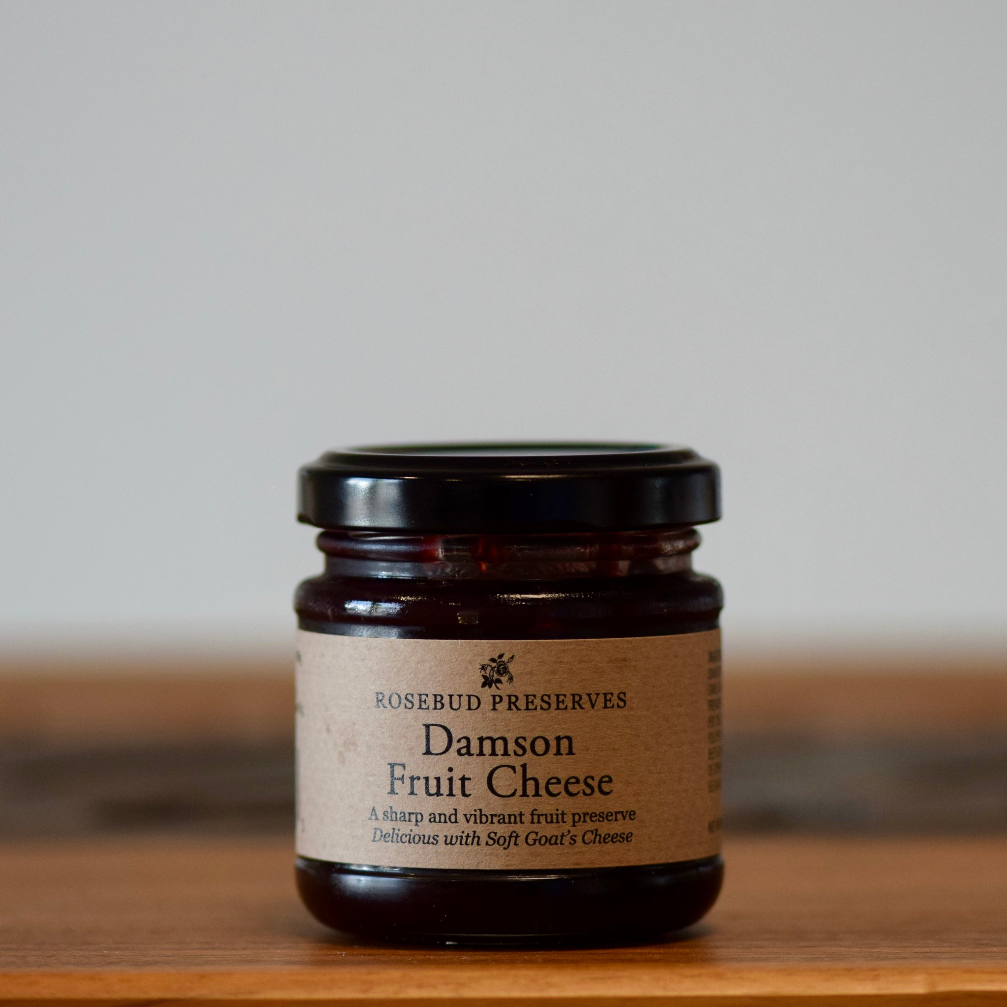 Damson Fruit Cheese - Rennet & Rind British Artisan Cheese