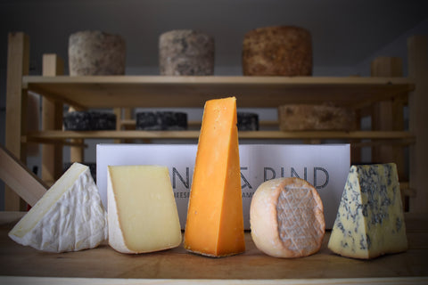 Mystery Cheese Box - Rennet & Rind British Artisan Cheese