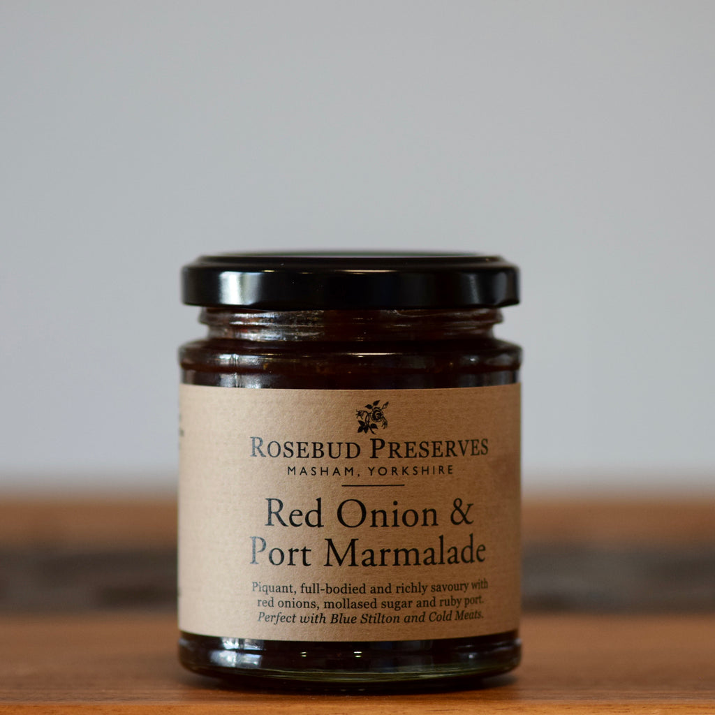 Red Onion & Port Marmalade - Rennet & Rind British Artisan Cheese