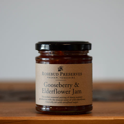 Gooseberry & Elderflower Jam - Rennet & Rind British Artisan Cheese